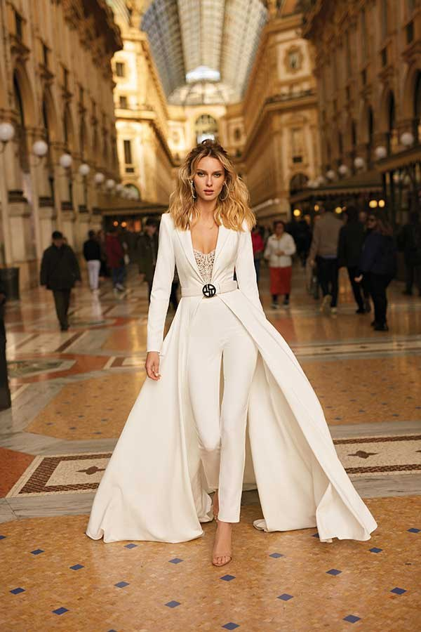 Berta 20-24 milano collection wedding gown