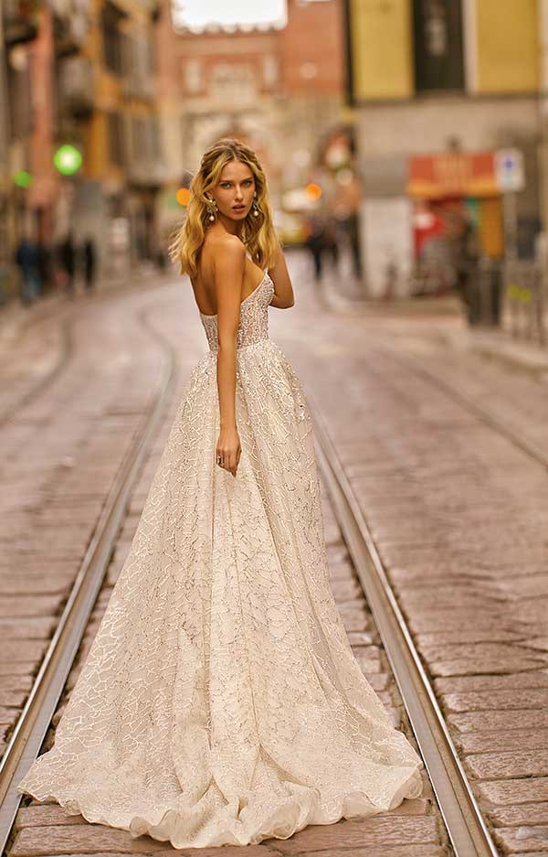 Berta 20-08 wedding dress primalicia from Milano Collection